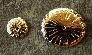 小物の金メッキ加工